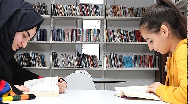 İlkadım Belediyesi Kütüphanesi Halkın Desteğiyle Büyüyor