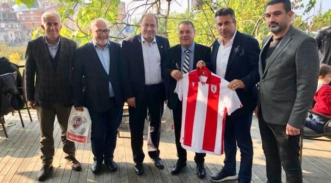 Yılport Samsunspor'dan Hekimoğluna Teşekkür