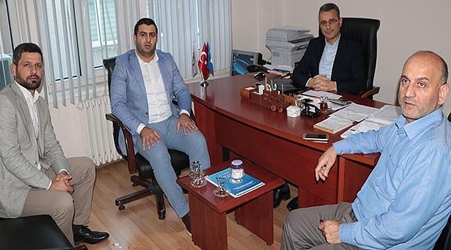 AK Parti İlkadım İlçe Başkanından Vefa Ziyaretleri