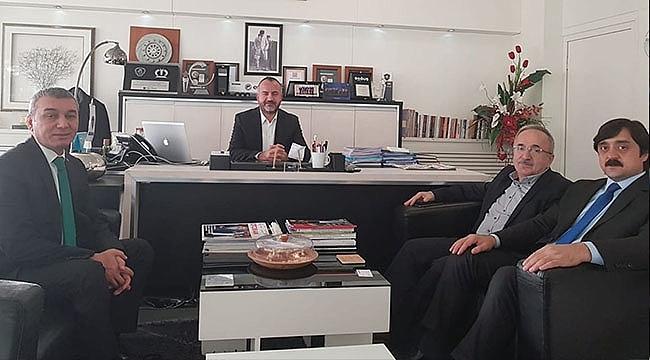 AK Parti Samsun İl Başkanlığı'ndan Vefa Ziyaretleri