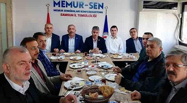 Memur-Sen Engelliler Komisyonu Şube Başkanları ile bir araya geldi!