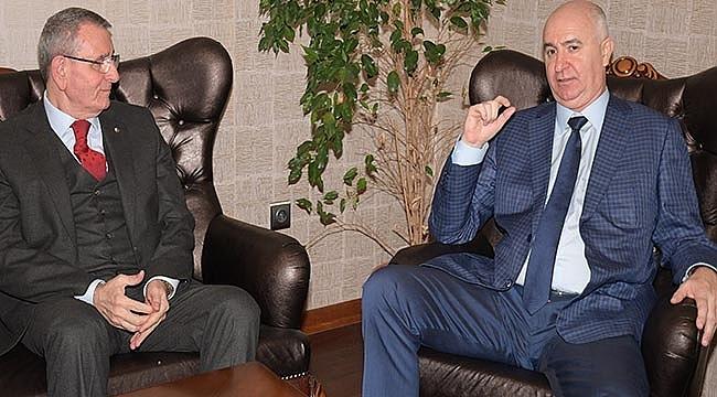 Novorossiysk Belediye Başkanı Diecenko, Murzioğlu'nu ziyaret etti
