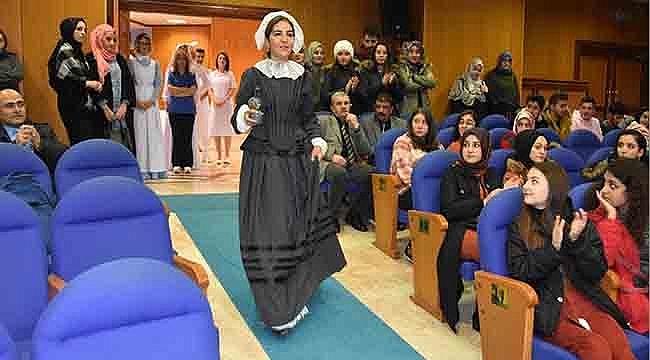 OMÜ'de Hemşirelik Kıyafetleri Defilesi