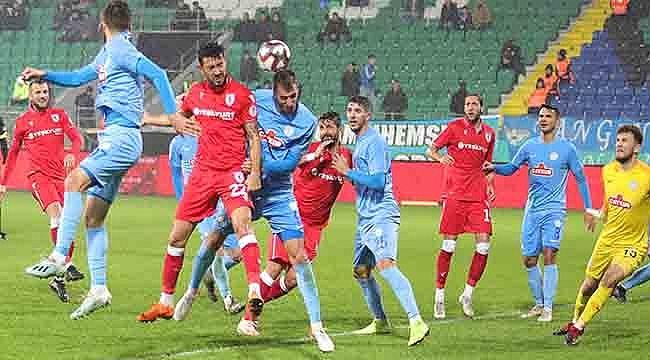 Samsunspor 2. Yarı Coştu 3-2