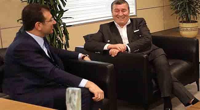 TSYD Yönetim Kurulu, Ekrem İmamoğlu'nu Ziyaret Etti