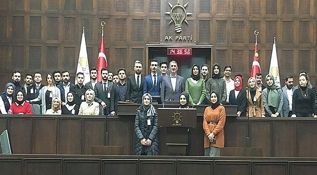 ÜNİAK Samsun'dan Ankara Çıkarması