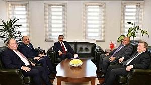 Yılport Samsunspor A.Ş. Y.K. Başkanı Yıldırım'dan Önemli Ziyaretler