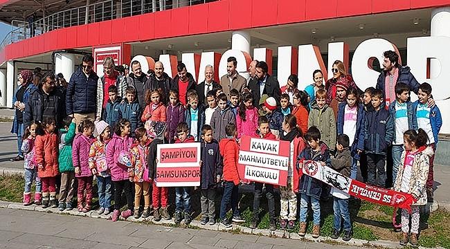 Çocuklar Samsunspor'la Buluşuyor…