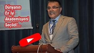 Türkmen Hoca'ya En İyi Akademisyen Ödülü!