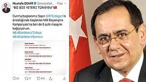 Başkan Demir'den Milli Dayanışma Kampanyası'na Destek