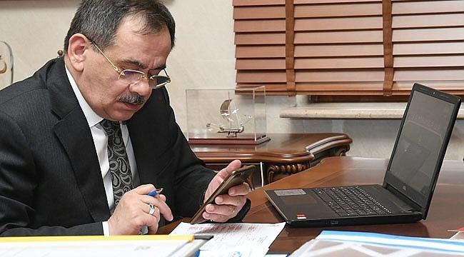Başkan Demir'den Telefonla HALK GÜNÜ!