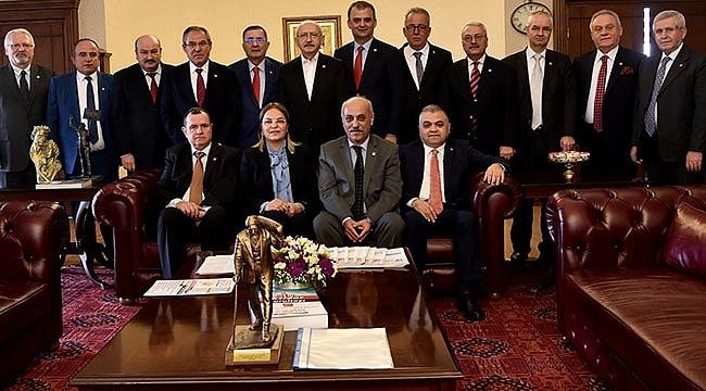 Samsun CHP'den Kılıçdaroğlu'na Tam Destek