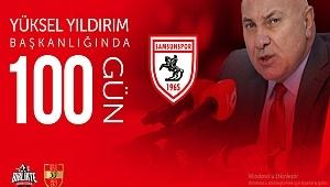 Samsunspor'un Yüksel Yıldırım'la 100. Günü