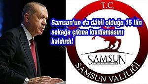 Cumhurbaşkanı Erdoğan'dan Sokağa Çıkma Açıklaması!...