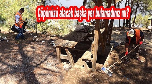 Piknik Alanlarını Çöplüğe Çevirdik!...