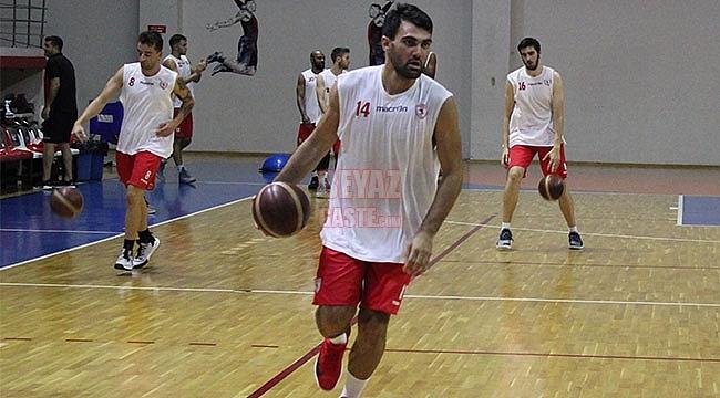 Samsunspor Basket Hazırlıklarını Sürdürdü