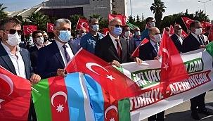 Samsun'dan Azerbaycan'a Destek!