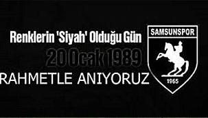 20 Ocak 1989, Samsunspor Tarihinin Unutulmaz Acısı