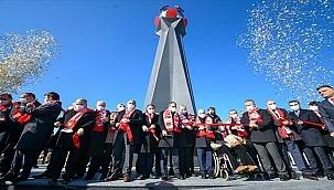 En Acı Günün Hatırası Anıtı Açıldı!...