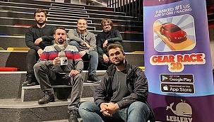 """""""Gear Race 3D"""" ile Dünyada Zirveye Oynuyor"""