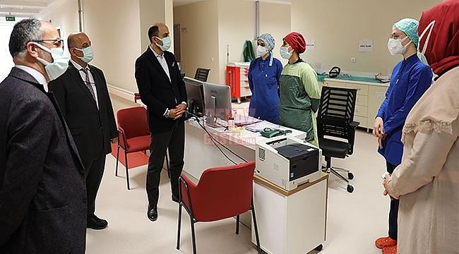 İlçe Hastanelerimiz Kritik Bir Rol Üstlendi