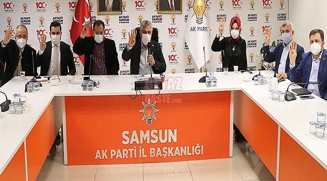 Cumhurbaşkanımıza Samsun'da Destek Çok Güçlü