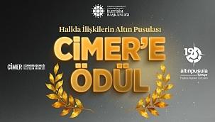 """CİMER """"Altın Pusula"""" Ödülü Kazandı"""