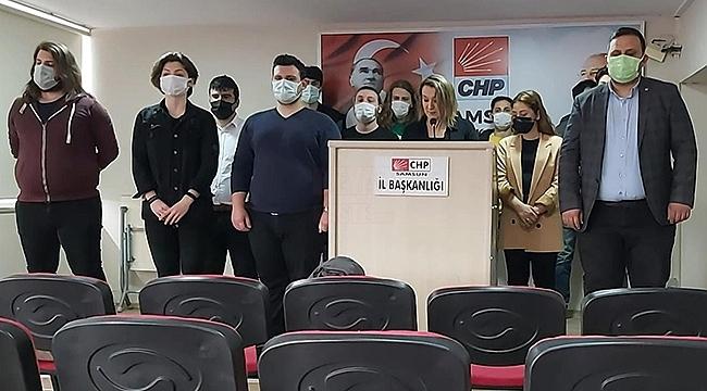 Samsun CHP'den Ak Parti Gençlik Kollarına!...