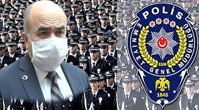 Vali Dağlı, Polis Teşkilatının 176. Kuruluş Yıl Dönümünü Kutladı