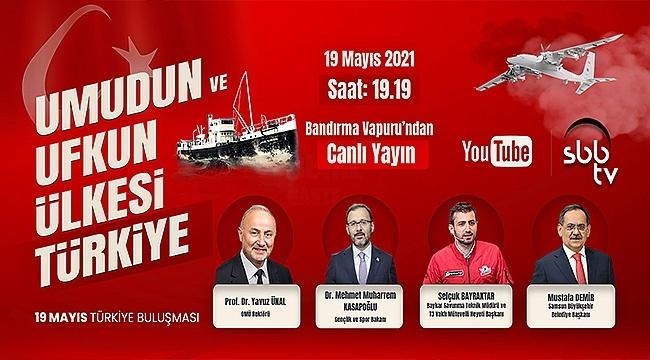 Bakan Kasapoğlu ve Selçuk Bayraktar SBB TV'de