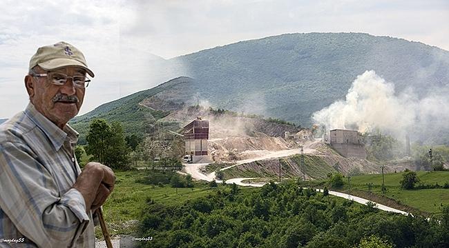 Taş Ocakları ve Çimento Fabrikası Kavak Halkına Yaşam Hakkı Tanımıyor