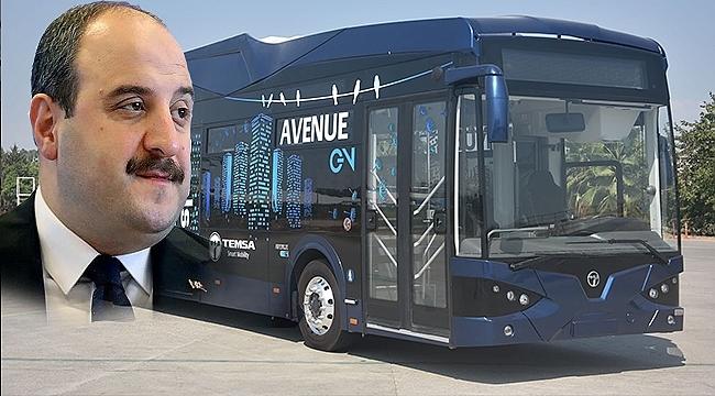 Bakan Varank, 'Elektrikli Otobüs' İçin Samsun'a Geliyor