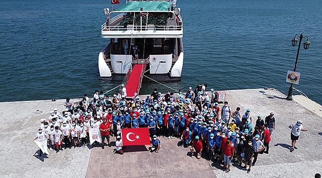 Biz Anadoluyuz projesi kapsamında Sinoplu öğrenciler Samsun'u gezdi.