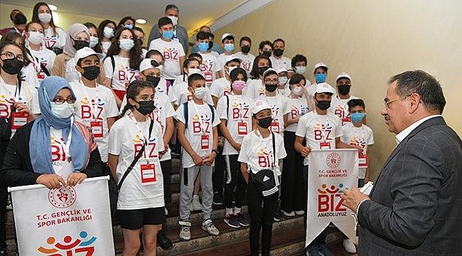 Kastamonulu Gençlerden Başkan Demir'e Ziyaret