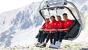 Samsunspor'un Teleferik İle Erciyes Dağı Turu