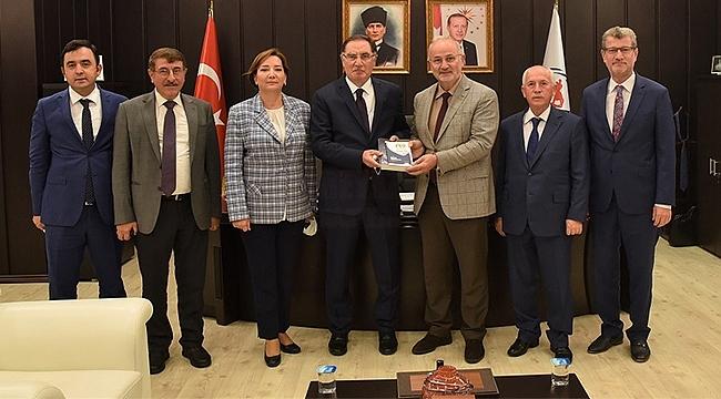 OMÜ'nün Konuğu Kamu Başdenetçisi Şeref Malkoç